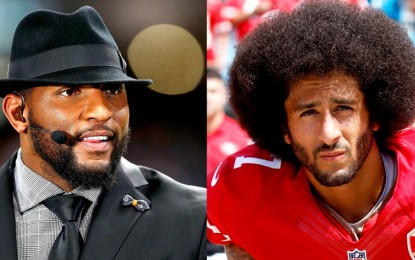 Ray Lewis Says Colin Kaepernick's Name Is in His Bible as He Prays for QB