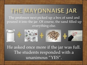 THE MAYONNAISE JAR...AND COFFEE