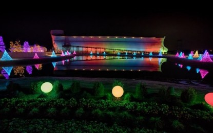 The Ark Encounter Will be Permanently Lit with Rainbow Lights