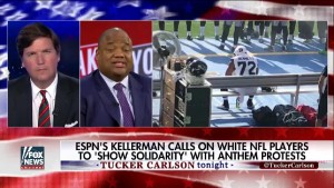 ESPN's Kellerman Calls on White NFL Players