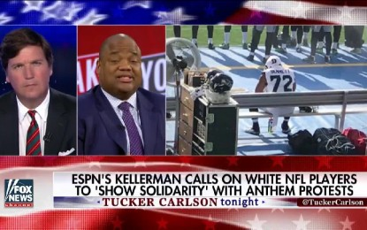 ESPN's Kellerman Calls on White NFL Players to 'Show Solidarity' With Anthem Protests