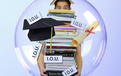 Getting ready for the student loan bubble to burst