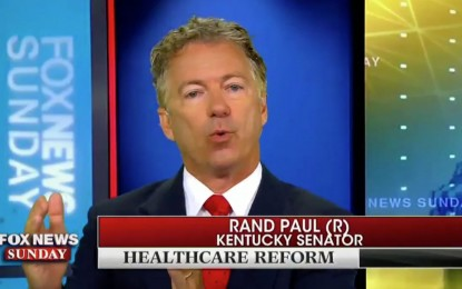 Thank You, Rand Paul