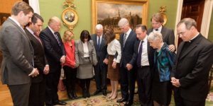 Trump Team Attends Weekly White House Bible Study