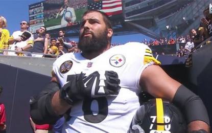 NFL anthem superstar pulled wounded U.S. soldiers from Taliban fire