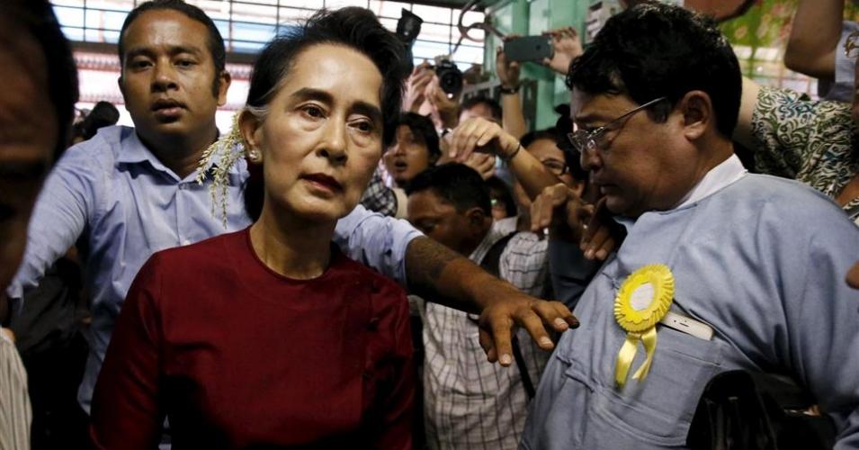 Burmese Leader - Aung San Suu Kyi of Myanmar