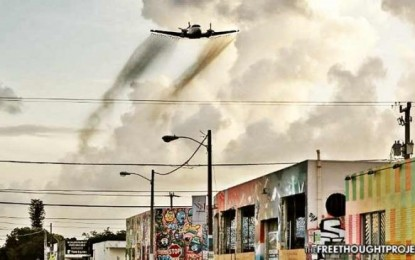 Homeland Security to Release Chemicals into the Air to Simulate a Biological Terror Attack