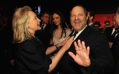NYT: Bill and Hillary Were Weinstein's 'Celebrity Shields'