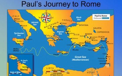 The Gospel Spreads From Caesarea To Rome