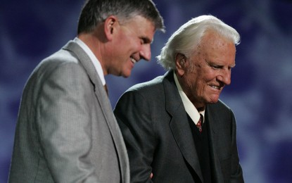 Billy Graham's New Home