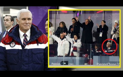 Mike Pence 'Takes a Knee', Shows His True Colors Pyeong-Chang