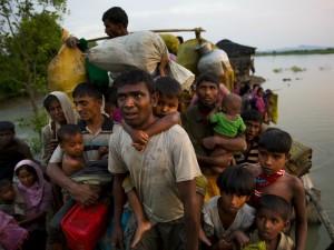 Myanmar bulldozes