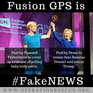 Planned Parenthood paid Fusion GPS