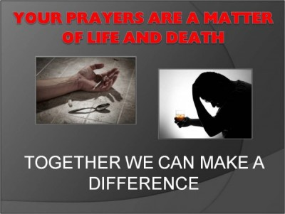 The 28th Annual 'Just Pray NO!' to Drugs Worldwide Weekend of Prayer and Fasting