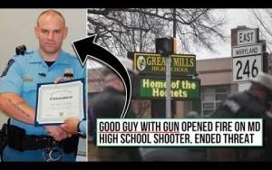 Armed Officer Ends