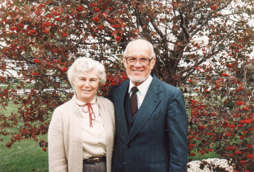 God Can Wield - Dr. Harvey Thomas Hoekstra with his wife Lavina