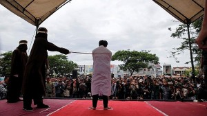 Indonesian Christians flogged