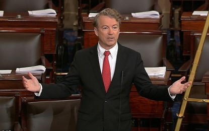 Rand Paul: Republicans, Democrats 'Joining Hands Together to Blow a Hole in the Debt'