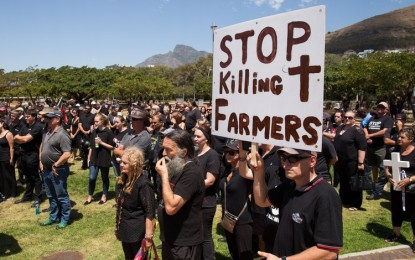 South Africa: Blacks Kill One White Farmer Every Five Days in 2018