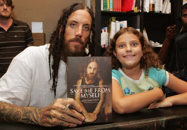 An Open Letter - Brian Head Welch with Jennea in 2007