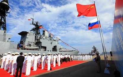 China voices support for Russia on Syria, holds naval drills against USA