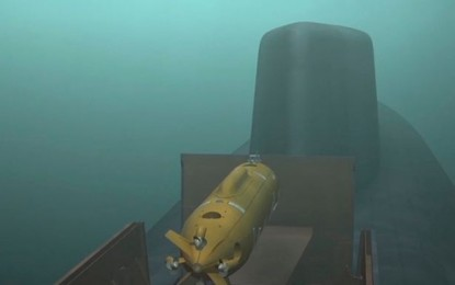 Vladimir Putin unveils underwater Poseidon drone that carries nuclear warheads 'capable of causing 300ft tsunamis'