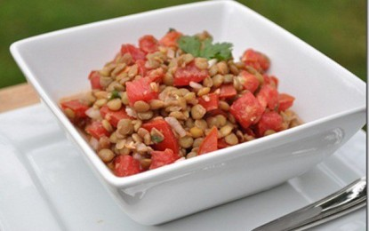 Eating lentils can lower blood sugar levels by more than 20 percent and prevent cancer