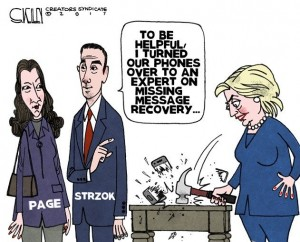 FBI Lisa Page cartoon 1