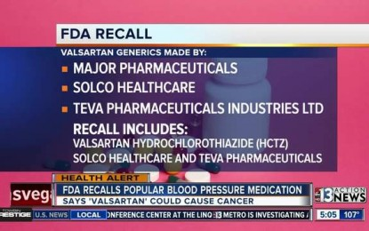 FDA recalls common heart drug over cancer concerns