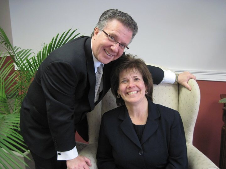 Local Pastor Steps - Pastor Dave & Cindy Aucoin