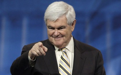 "Newt Predicts ""Red Wave"" In November"