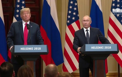 PUTIN DROPS BOMB AT HELSINKI PRESSER: Says US Intelligence Helped Move $400,000 to HILLARY Campaign!!
