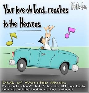 Holy Hands cartoon