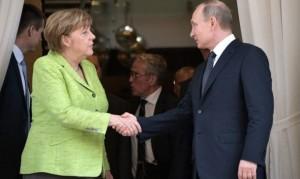 Putin-Merkel Summit