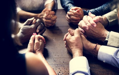 """Together…Lord hear """"our"""" prayer"""