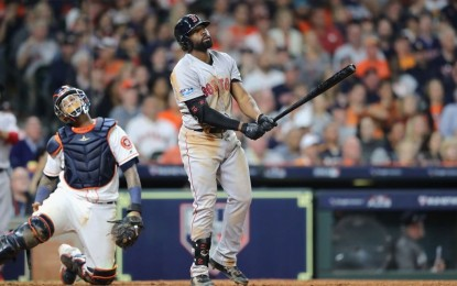 Red Sox outfielder Jackie Bradley Jr. named ALCS MVP, keeping God as his 'main focus'