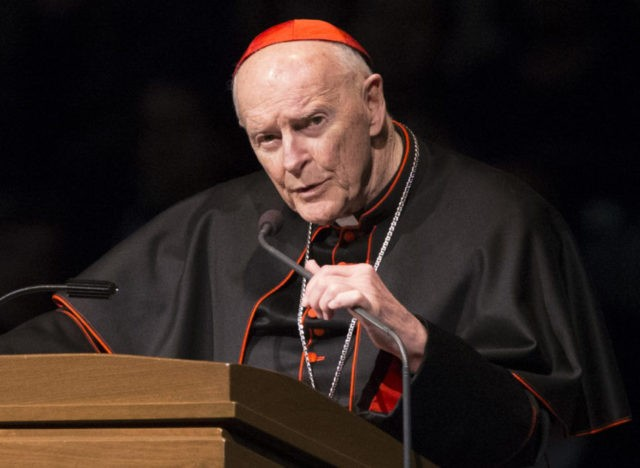 The Wolves - Cardinal McCarrick resignation