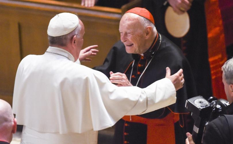 The Wolves - Pope Francis with Cardinal McCarrick