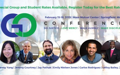 "4th ANNUAL, NEW ENGLAND-WIDE ""GO CONFERENCE"" ON FEBRUARY 15-16, 2019"
