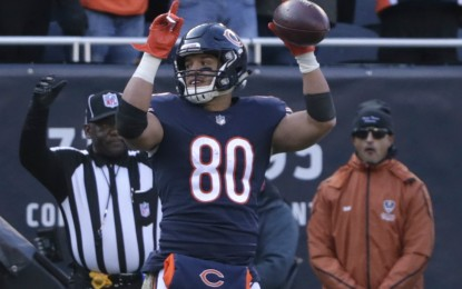 Trey Burton puts team first in helping Bears to first NFC North title in eight years