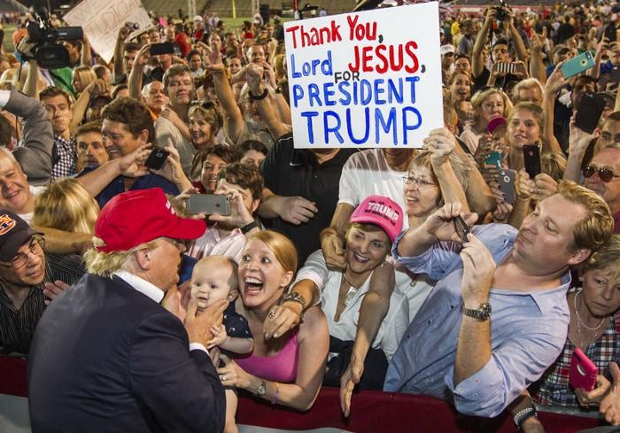 Why Evangelicals Love Donald Trump