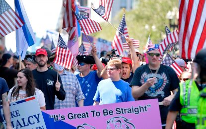 Judge orders straight-pride opponents: Get out of city