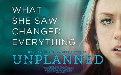 Unplanned coming to a church near you!