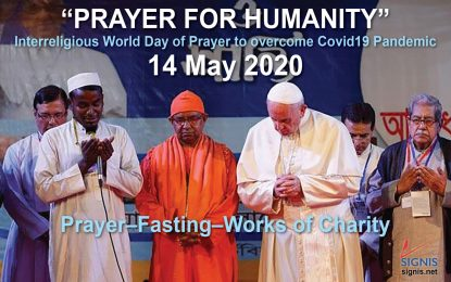 'Pope Francis' Wants 'Believers of All the Religions to Unite Together Spiritually on May 14' to End Coronavirus