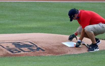 Major League Baseball to Stencil 'Black Lives Matter' on Pitcher's Mound for Opening Weekend
