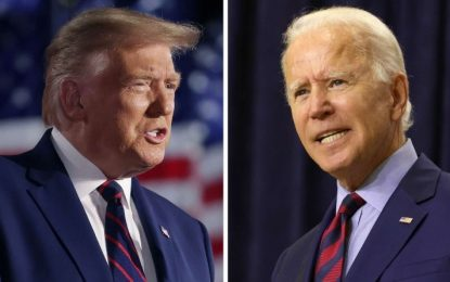 Christian Voting Guide Grades President Trump 'A-,' Joe Biden 'F'