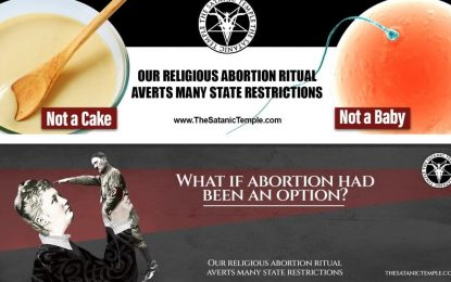 Satanic Temple Sues Billboard Company for Declining Abortion 'Religious Ritual' Advertisements