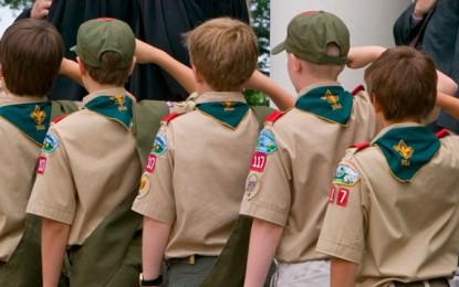 Boy Scouts Attendance Down