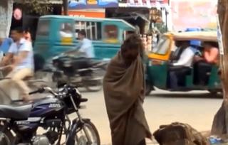 Deranged, violent homeless man transformed by Jesus