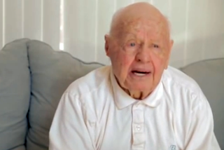 How Mickey Rooney's encounter with an angel led to his faith in Jesus Christ.